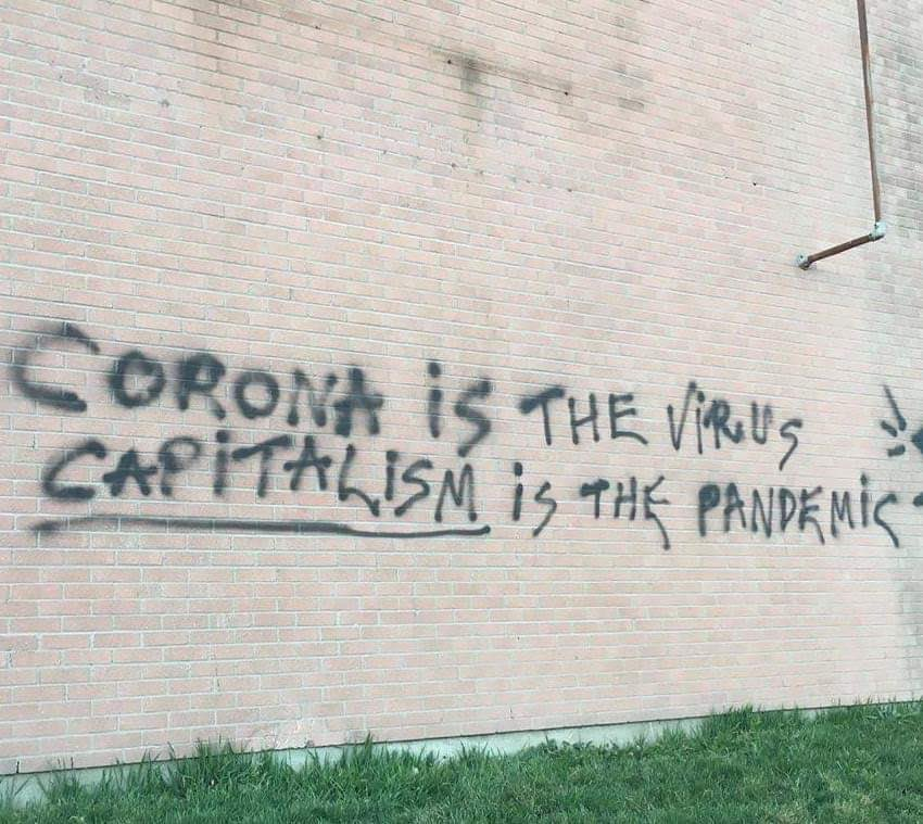 coronais the virus, capitalism is the pandemic